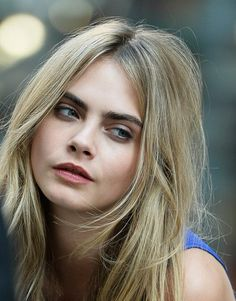 Cara Delevingne natural makeup