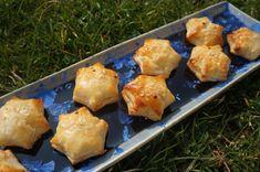 Etoiles apéritives au fromage frais