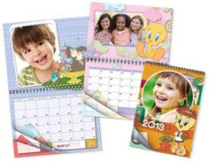 Calendari Multipagina Tweety - www.rikorda.it