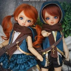 Ginger twins! I love it! DOLKSTATION - Ball Jointed Dolls Shop - Shop of BJD Dolls