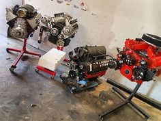 From: ssgabe12 - #tbt to some 🔥🔥 i been working on.. #lsx454s #ls408 #lq4 #lsa #boost #lsx #therealLSX #454 #lsswap #lsxspecialist #4chevellesin1pic #holley #wegnermotorsports #mastmotorsports #compcams #polished #kandypaint #chevyorange #powdercoat #fast #chevelle #chevy -  More Info:https://www.instagram.com/p/BfzqZ7FF5zn/