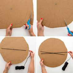 Get Your Weave On With This DIY Placemat - - Get Your Weave On With This DIY Placemat.You can find Weaving and more on our website.Get Your Weave On With . Weaving Projects, Weaving Art, Loom Weaving, Yarn Crafts, Diy And Crafts, Crafts For Kids, Circular Weaving, Creation Deco, Weaving Techniques