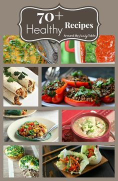 70  Healthy Recipes for the New Year!