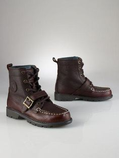 9cff31a8c4b9 nice Ralph Lauren leather boots for boys