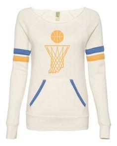 i love this basketball fleece