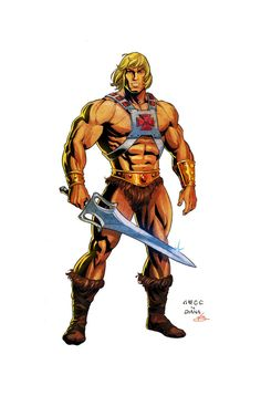 He-Man - Most Powerful Man in the Universe! by Axel-Gimenez.deviantart.com on @DeviantArt