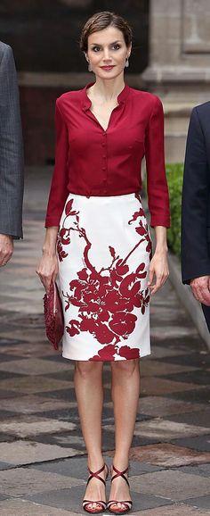 MyRoyals:  Queen Letizia, June 30, 2015