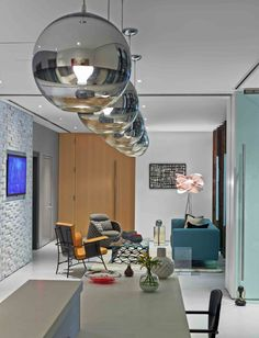 Great Room - The Mod Offices of Ad Agency Chandelier Creative ...