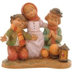 Amazon.com - Fontanini Jethro, Tamar & Saul * Nativity Village Collectible 72696 - Collectible Figurines