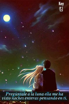 Read Wallpaper from the story Anime Pictures by (Hyo) with 954 reads. Love Cartoon Couple, Cute Couple Art, Anime Love Couple, Cute Anime Couples, Cute Love Wallpapers, Cute Couple Wallpaper, Anime Scenery Wallpaper, Animated Love Images, Moon Art