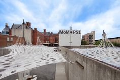 Lumen by Jenny Sabin Studio for The Museum of Modern Art and MoMA PS1's Young Architects Program 2017, on view at MoMA PS1 from June 29 to September 4, 2017. Photo by Pablo Enriquez.