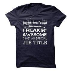 Emergency Room Physician Job Title T Shirt, Hoodie, Sweatshirt