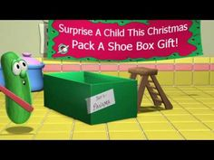 Veggie Tales Operation Christmas Child story