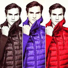 PeRFection In many color = Roger Federer  #federer4ever #rogerfederer #nike #atp #tennis #instagood #followforfollow #tagforlikes #gillette