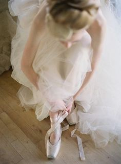 Shabby Girl loves ballet! En Pointe