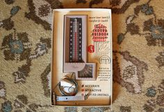 Taylor Indoor/Outdoor Thermometer ~ Vintage ~ 1970s ~ Model #5330 ~ Mounting Instructions and Hardware ~ Rochester, NY by JingleBeanFarm on Etsy
