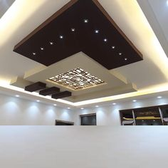 60 Modern Plasterboard Ceiling Design Ideas 2019 with Perfect Living Room Ceiling - Ceplukan Kitchen Ceiling Design, Simple False Ceiling Design, House Ceiling Design, Ceiling Design Living Room, Bedroom False Ceiling Design, False Ceiling Living Room, Ceiling Light Design, Home Ceiling, Living Room Designs
