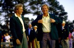 Relive Jack Nicklaus' historic career with the best photos from our archives. Masters Green Jacket, Lee Trevino, Ernie Els, Masters Golf, Jack Nicklaus, Lpga, Great Photos, Victorious, Finals