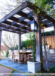 September 2015 | Luxury Wooden pergola | Classic Style Pergola | Outdoor Wooden Pergola | Black Queen Pergola