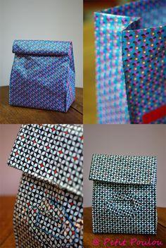 DIY #7 * Fanny pour Petit Poulou * Le sac à goûter / Lunch bag www.petitpoulou.com