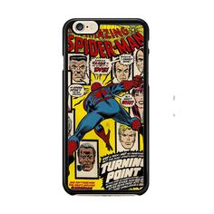 Marvel Comics The Amazing Spider man IPhone 6| 6 Plus Cases