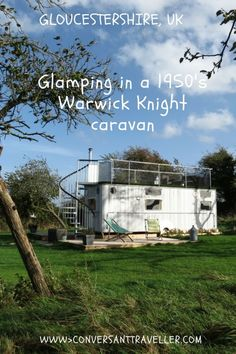 Glamping in Gloucestershire - quirky accommodation at the Warwick Knight Glamping Orchard, UK