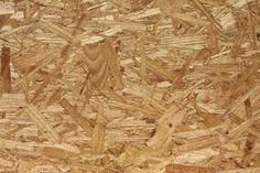 How to paint OSB. OSB, or Oriented Strand Board, is an engineered wood product often used as sheathing in walls, floors and roofs. Particle Board Floor, Osb Board, Painted Osb, Painted Plywood Floors, Painting Plywood, Floor Painting, Osb Plywood, Oriented Strand Board, Ideas