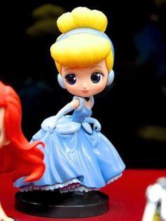 Banpresto Q Posket Disney Characters Petit Vol 2 Figure Cinderella Princess #BANPRESTO