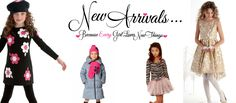 Girls Designer Clothing: Kate Mack, Giggle Moon, Persnickety, Mustard Pie at Adorables