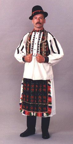 Mohács, Baranja (Hungary) Folk Costume, Costumes, Complex Art, Hungarian Embroidery, People Around The World, World Cultures, Traditional Outfits, Beautiful People, 1