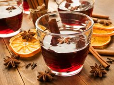 A warming glass of mulled wine