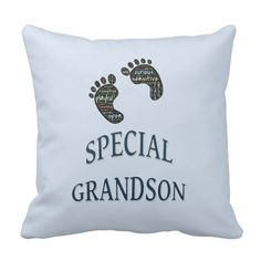 Shop Special Grandson Throw Pillow created by Brightkids. Diy Pillows, Throw Pillows, Promote Your Business, Baby Gifts, Business Products, Messages, Baby Things, Grandchildren, Mysterious