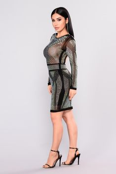 c3f05ee2d17 Studs N Stones Midi Dress - Black. Hot DressDress SkirtWomen s Fashion  DressesSexy ...