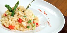 Slow Cooker Sundried Tomato Risotto - Easy to make in the slow cooker!  YUM!  www.GetCrocked.com