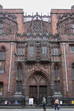 John Rylands Library - Manchester.  It reminds me of the Ghostbusters' headquarters.