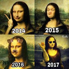 Now we know what is 2017 trend! 😂😊😁 Collage by:@awesome.arts. . Follow@inspire.mi Follow also @awesome.arts for more... . . . . . Saltbae by:@sainthoax #monalisa #monalisasmile #saltbae #art🎨 #funnyart #trend #funnyvideo #newtrend #awesomearts #funnypics #caps #creativity #awesome #artlovers #2017 #memes #salt #meme #comedy #comic #artgallery #painting #edit #drawing #edits #instaart #artworld #worldofartists