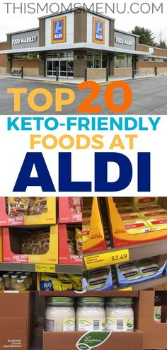 Keto at Aldi Aldi Keto Grocery list! Eating Keto can carry a hefty price tag. Shopping at Aldi can save some you some serious cash if you know what to look for and what to avoid. Aldi Recipes, Healthy Diet Recipes, Low Carb Recipes, Healthy Eating, Budget Recipes, Keto Snacks, Lunch Recipes, Vegan Recipes, Clean Eating