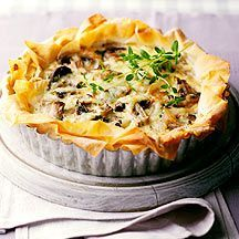 Weight Watchers - Champignon-tijm quiche - 5pt
