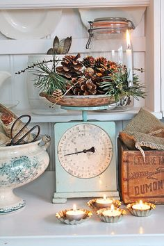 VIBEKE DESIGN: Vintage scales and other vintage pretties