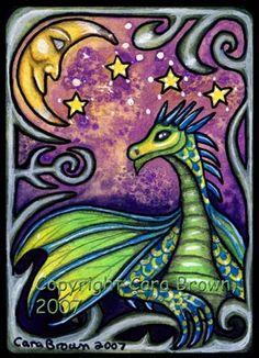 Fairies World, Fairy & Fantasy Art Gallery - Cara Brown/Dragon Moon©