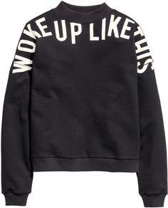 I woke pu like this #Sweat From H & M     <>  @kimludcom