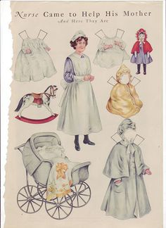Antique paper dolls and paper toys to make - Joyce hamillrawcliffe - Picasa Web Albums