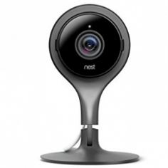 Is everything alright at home? The Nest Cam Indoor home security camera is designed to help you look after your house and family — even when you're away. Security Surveillance, Security Alarm, Safety And Security, Surveillance System, Camera Surveillance, Video Security, Security Tips, Best Home Security, Security Cameras For Home
