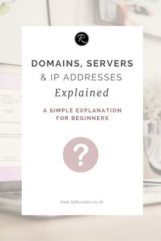 A simple explanation of domain names, servers and IP Addresses for beginners. Ahh domains; a frequent source of confusion for both tech…