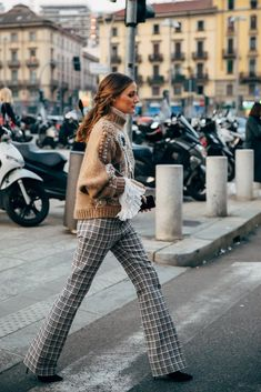 Olivia Palermo at the Milan Fashion Week Street Style Fall 2019