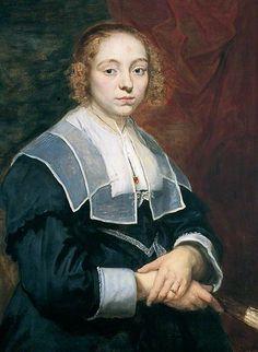 """Cornelis de Vos, """"Portrait of a Young Girl"""", ca. 1643"""