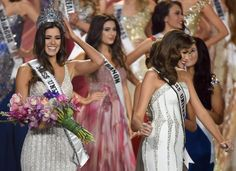 Sunday night is the 64th Annual Miss Universe Pageant.