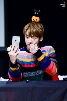 #Jungkook #BTS #Wings    161016 Mokdong Fansign  