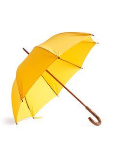 Yellow Cotton Umbrella - Umbrella Shop