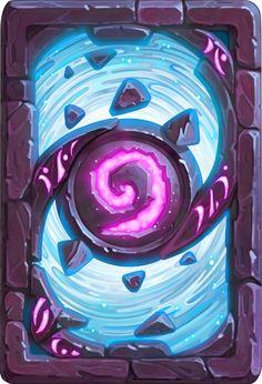 Card Back: The Blue Portal Artist: Charlène Le Scanff